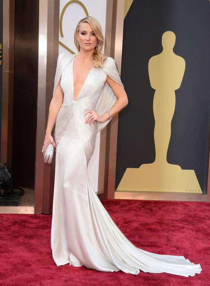 Kate Hudson arrives at the Oscars on Sunday, March 2, 2014, at the Dolby Theatre in Los Angeles. Photo: Jordan Strauss, Associated Press