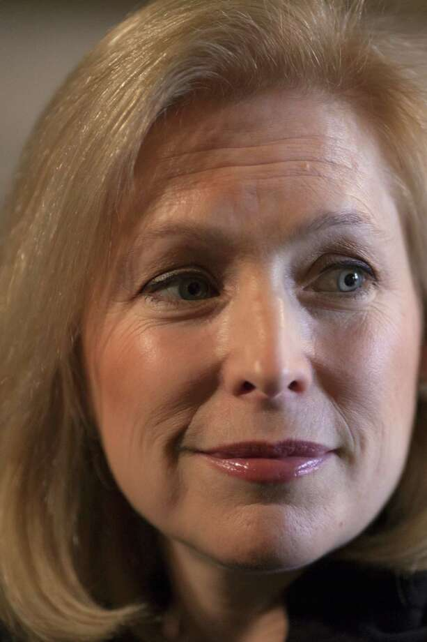 """Sen. Kirsten Gillibrand, D-N.Y., appeared on CBS' """"Face the Nation."""" / AP"""