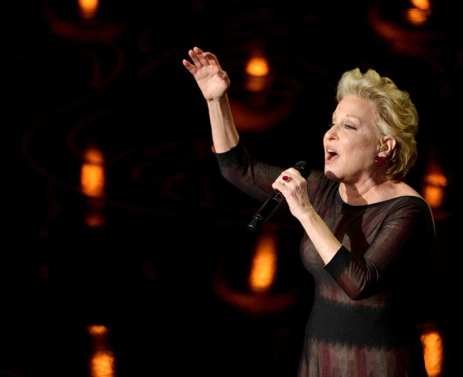 Bette Midler performs on stage during the Oscars at the Dolby Theatre on Sunday, March 2, 2014, in Los Angeles. Photo: John Shearer, Associated Press