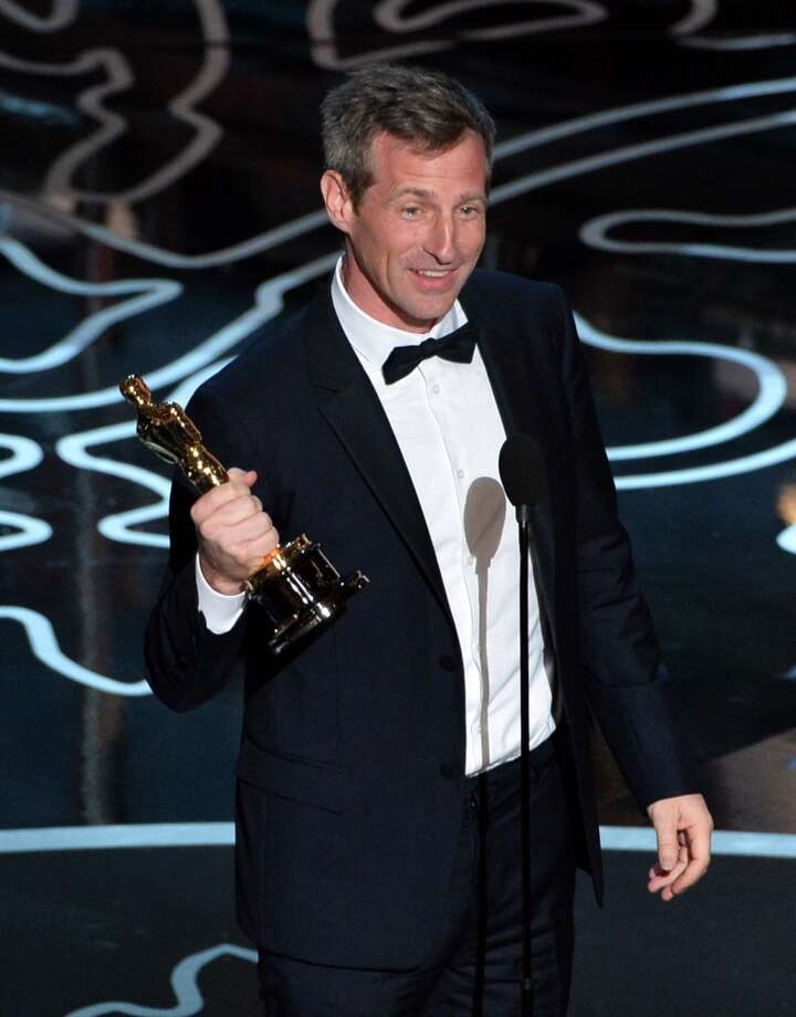 Screenwriter/director Spike Jonze accepts the Best Screenplay Written Directly for the Screen award for 'Her' onstage during the Oscars at the Dolby Theatre on March 2, 2014 in Hollywood, California. Photo: Kevin Winter, Getty Images
