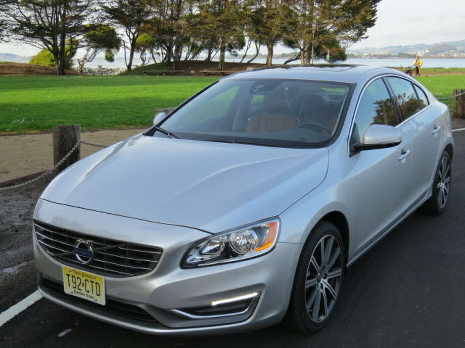 The 2014 Volvo S60 is in the competitive class of midsize near-luxury sedans that includes cars from Audi, BMW and Mercedes-Benz.  (All photos by Michael Taylor)