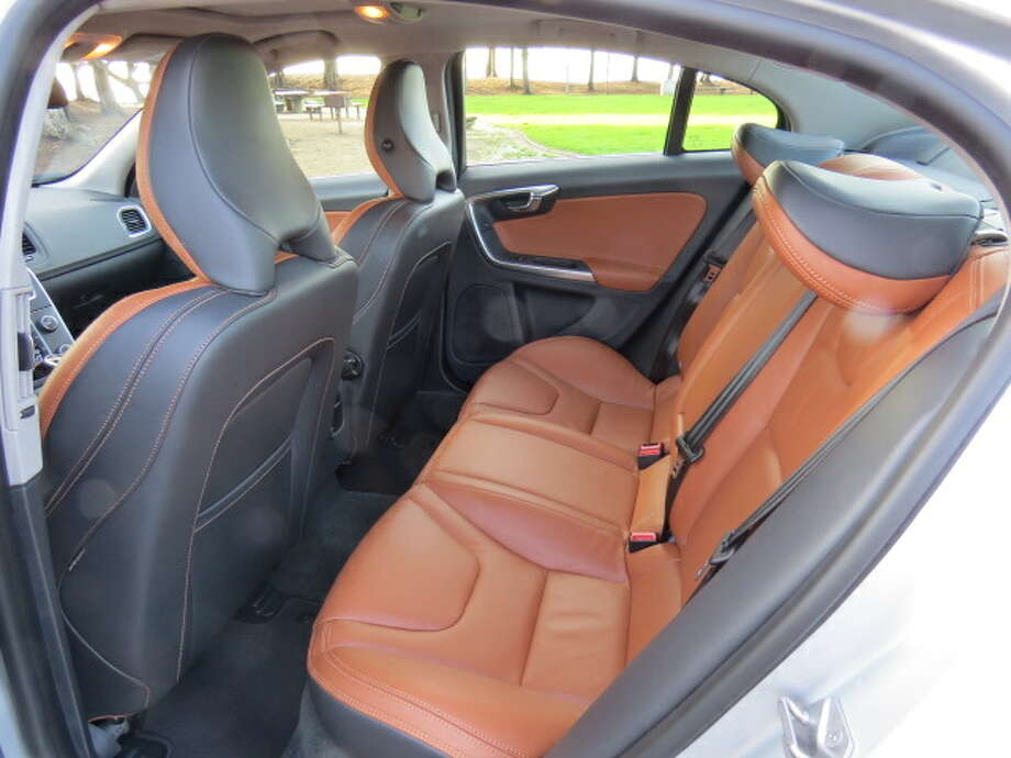 And rear seat passengers get the same royal leather treatment as those in front.
