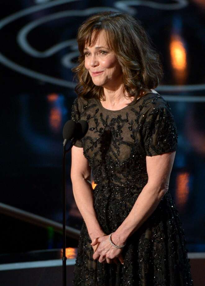 Sally Field speaks during the Oscars at the Dolby Theatre on Sunday, March 2, 2014, in Los Angeles. Photo: John Shearer, Associated Press