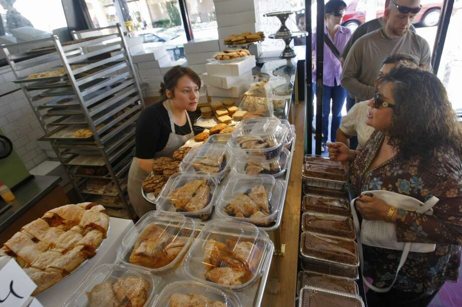 An increased number of bakeries in a gentrified area might sell anything from organic cupcakes to gluten-free gourmet goods. Photo: Lacy Atkins, The Chronicle