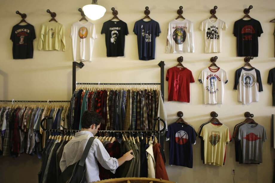 Also, consignment shops or vintage clothing stores replace Goodwills. Photo: Lea Suzuki, The Chronicle