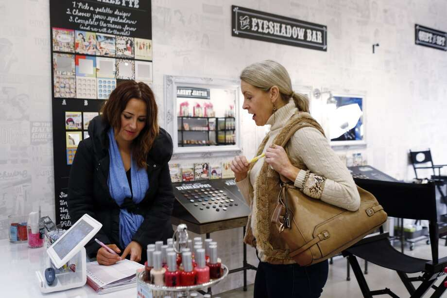 And then there's the boutiques that sell everything from beauty products to  knick-knacks like ironic smartphone cases. Photo: Carlos Avila Gonzalez, The Chronicle