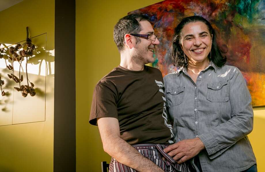 Owners  Massimiliano Conti and Lorella Degan at La Nebbia in San Francisco, Calif., are seen on Thursday, February 20th, 2014. Photo: John Storey, Special To The Chronicle
