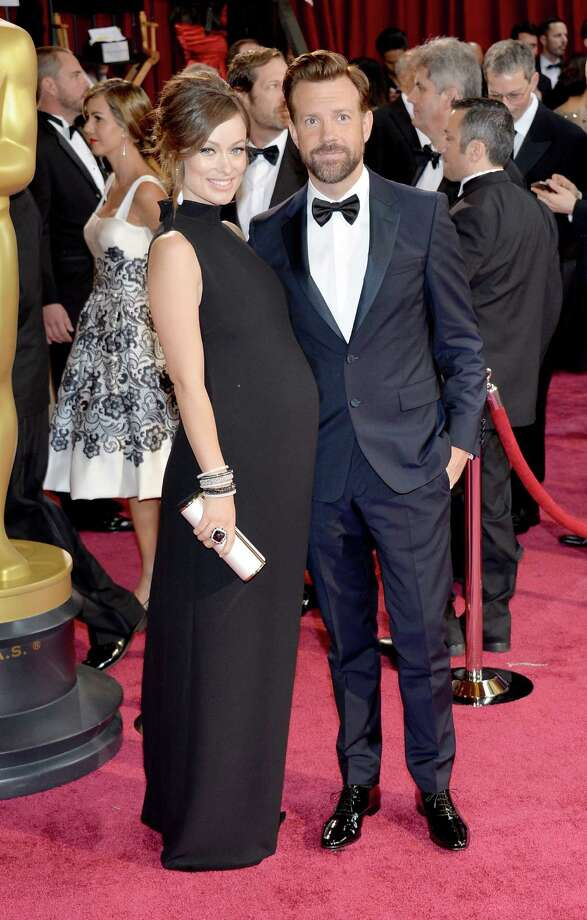Best: Olivia Wilde(with Jason Sudeikis) A baby bump gown done right. Photo: Michael Buckner, Getty Images / 2014 Getty Images