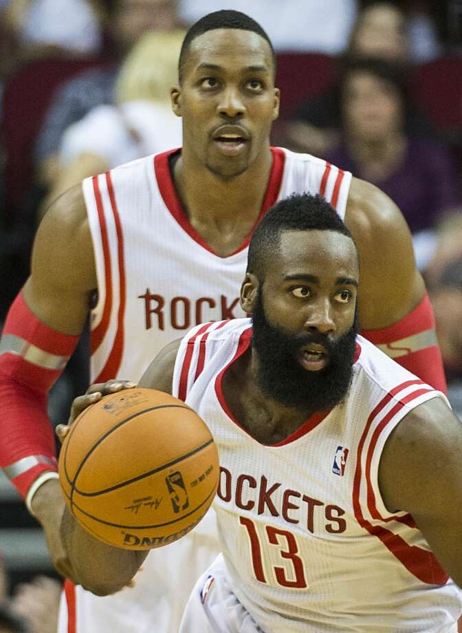 7. Houston Rockets (40-19)   February ranking: 7   January ranking: 7  December ranking: 7  Preseason ranking: 7  These Rockets are responsible for the second-fastest run to 40 wins in franchise history and own the NBA's best record in 2014, but need some quality wins to move up in the rankings. They'll get that chance with a few match ups against championship contenders in the coming weeks. Photo: Smiley N. Pool, Houston Chronicle