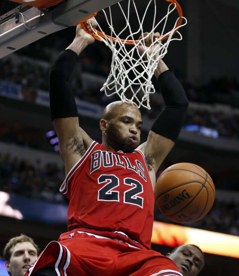 10. Chicago Bulls (33-26)   February ranking: 15  January ranking: 16  December ranking: 18  Preseason ranking: 3  Tom Thibodeau can be coach of the year any season and it won't be wrong, but he's been especially masterful this season. For his next trick he'll make Jimmer Fredette good enough defensively to play for the Bulls. Photo: John F. Rhodes, Associated Press