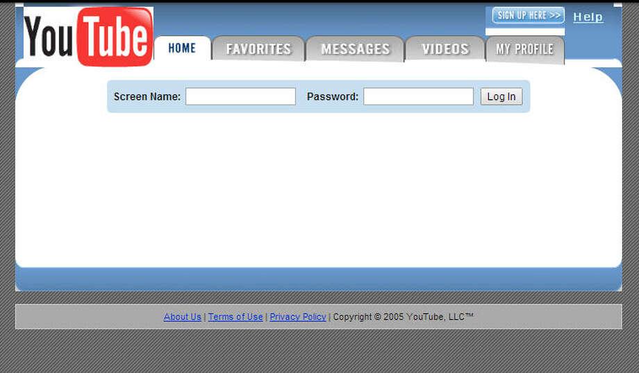 YouTubeLaunched in 2005 Photo: Wayback Machine