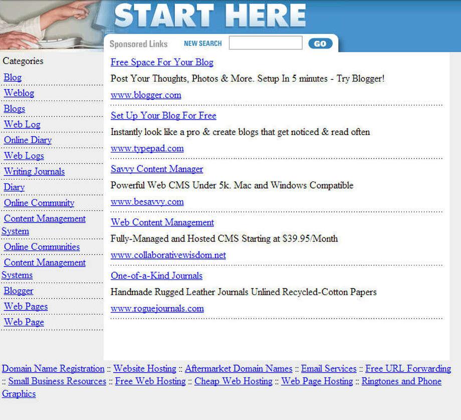 WordPressLaunched in 2003 (screenshot from 2004) Photo: Wayback Machine