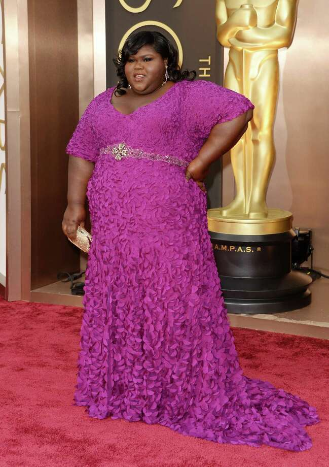Best: Gabourey Sidibe Gabourey wins second favorite color of the night.  Photo: Jason Merritt, Getty Images / 2014 Getty Images