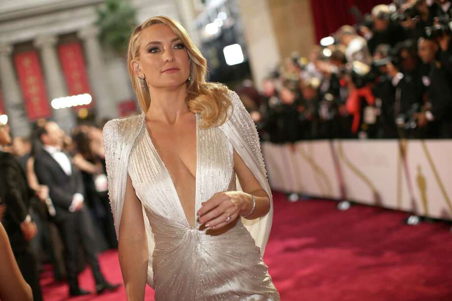 Worst: Kate HudsonHudson spent the evening emerging from an alien cocoon.  Photo: Christopher Polk, Getty Images / 2014 Getty Images