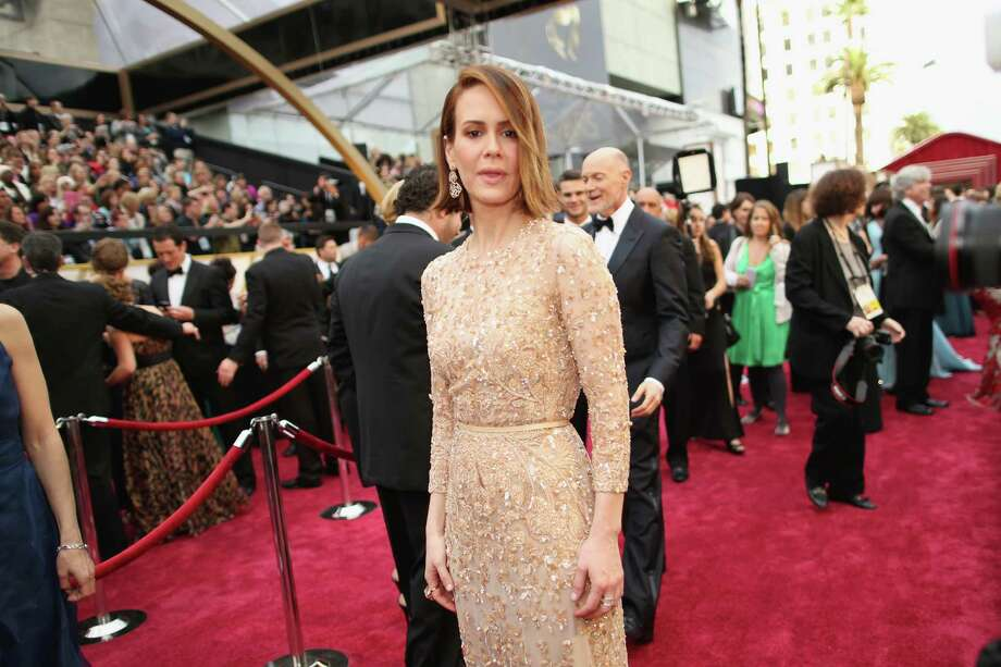 Worst: Sarah PaulsonWe just want to see Sarah Paulson in a sexy dress that is not beige and does not incorporate sequins or lace. Surely there's a witch's spell for that.  Photo: Christopher Polk, Getty Images / 2014 Getty Images