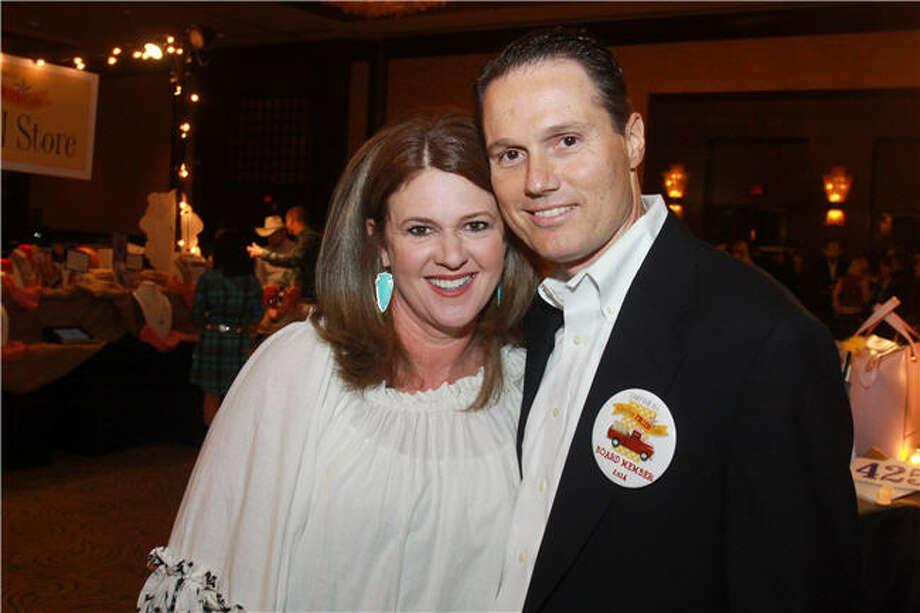 Kim and David Rottino Photo: Gary Fountain, For The Chronicle
