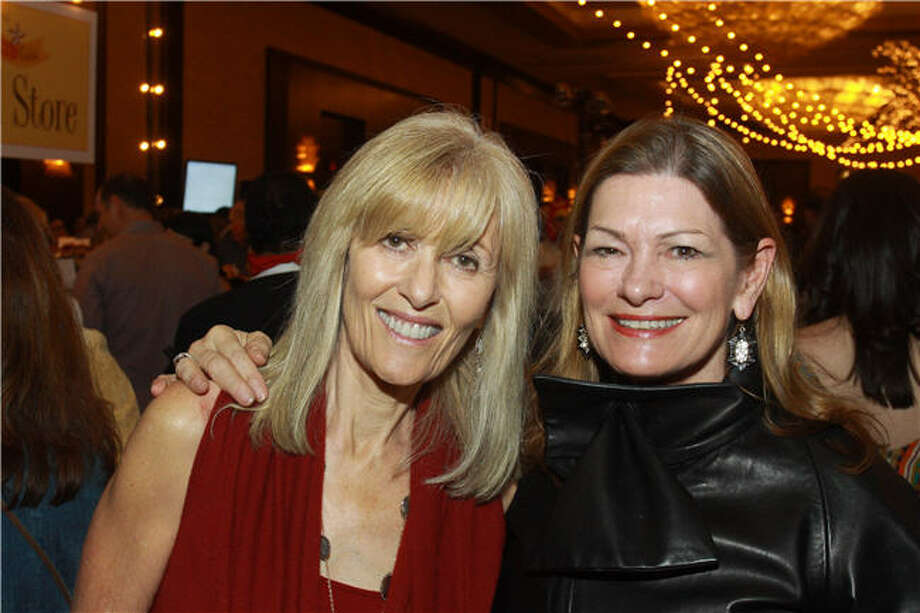 Bonnie Likeover, left, and Allison Jensen Photo: Gary Fountain, For The Chronicle
