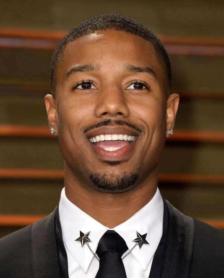 Actor Michael B. Jordan attends the 2014 Vanity Fair Oscar Party. Photo: Pascal Le Segretain, Getty Images