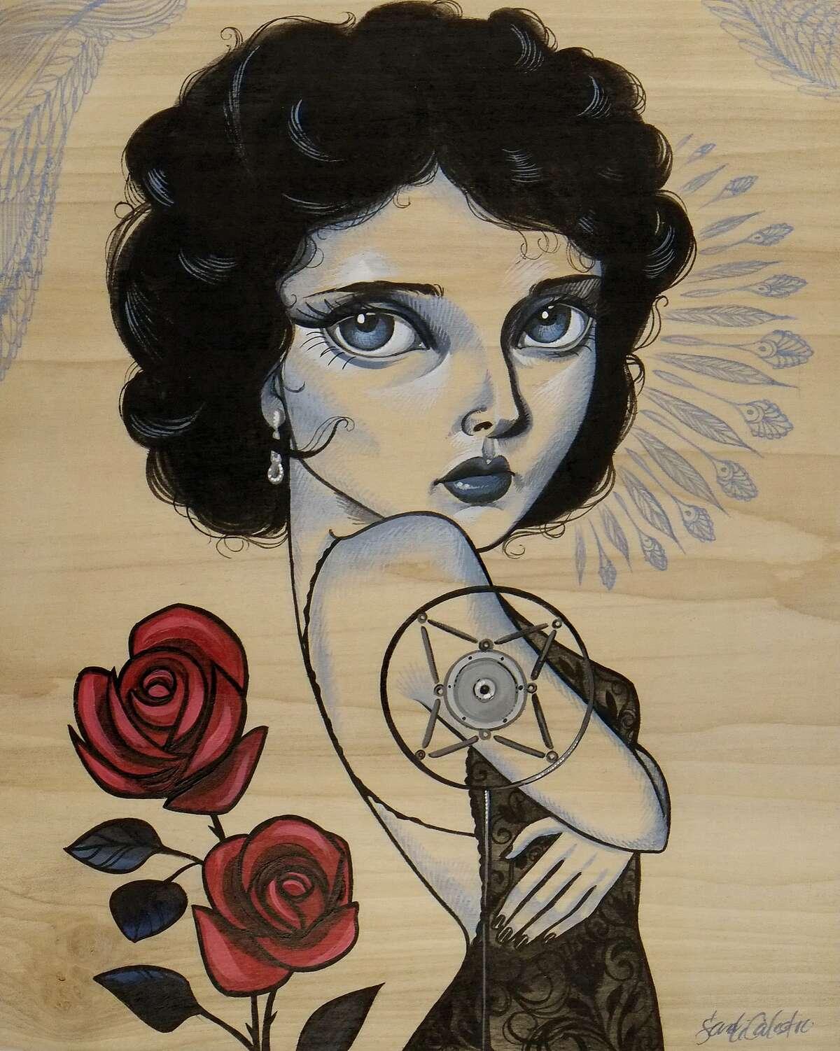 """Dorothy Vallens,"" by Sandi Calistro"