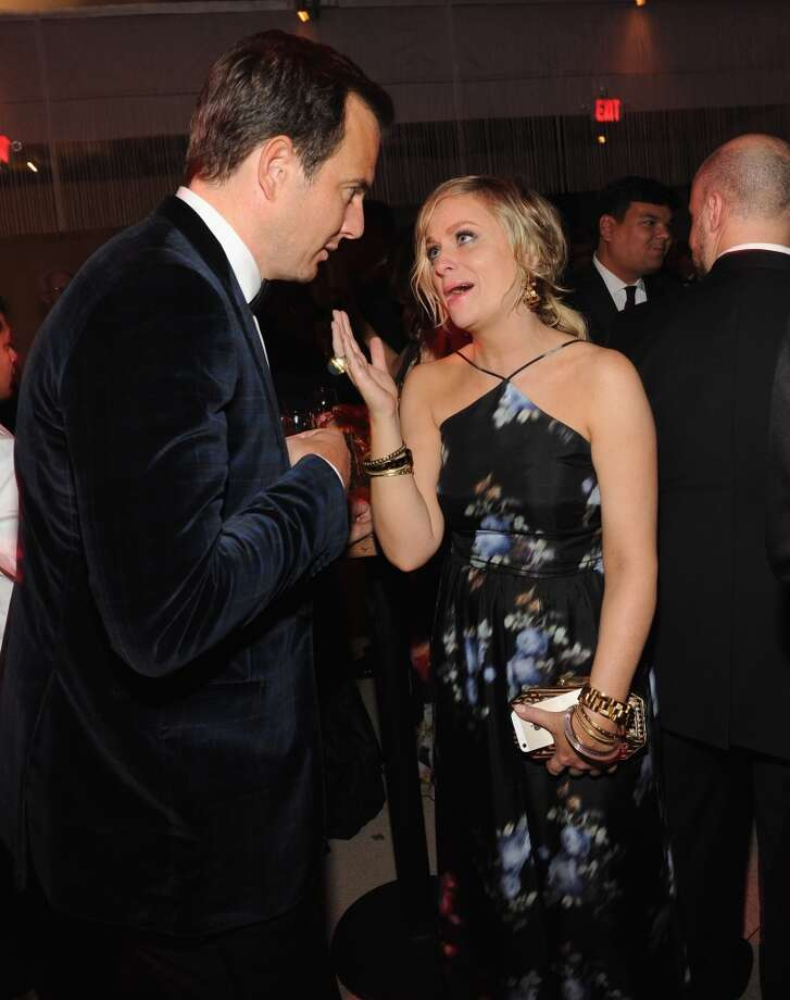 Will Arnett and Amy Poehler attend  the 2014 Vanity Fair Oscar Party Hosted By Graydon Carter on March 2, 2014 in West Hollywood, California. Photo: Kevin Mazur/VF14, WireImage