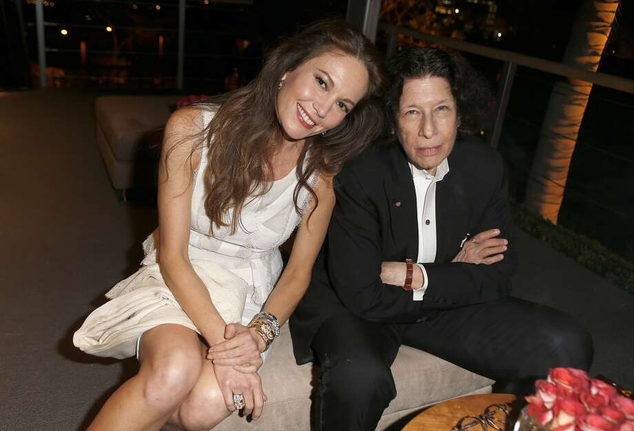 Author Fran Lebowitz is not impressed. Here she is with actress Diane Lane at the 2014 Vanity Fair Oscar Party Hosted By Graydon Carter on March 2, 2014 in West Hollywood, California. Photo: Jeff Vespa/VF14, WireImage