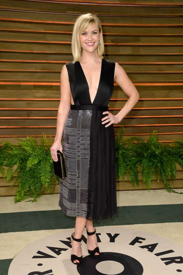 Actress Reese Witherspoon attends the 2014 Vanity Fair Oscar Party hosted by Graydon Carter on March 2, 2014 in West Hollywood, California. Photo: Pascal Le Segretain, Getty Images