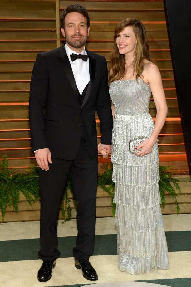 Ben Affleck, left, and Jennifer Garner attend the 2014 Vanity Fair Oscar Party, on Sunday, March 2, 2014, in West Hollywood, Calif. Photo: Evan Agostini, Associated Press