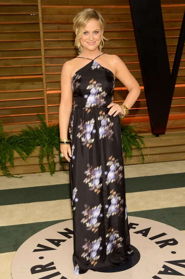 Amy Poehler attends the 2014 Vanity Fair Oscar Party, on Sunday, March 2, 2014, in West Hollywood, Calif. Photo: Evan Agostini, Associated Press