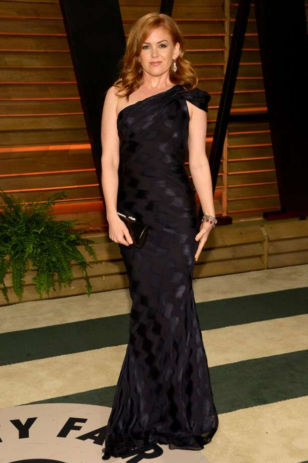 Isla Fisher attends the 2014 Vanity Fair Oscar Party, on Sunday, March 2, 2014, in West Hollywood, Calif. Photo: Evan Agostini, Associated Press