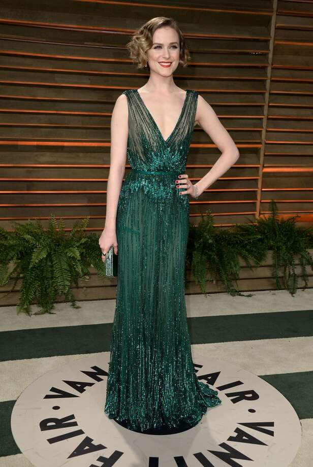Actress Evan Rachel Wood attends the 2014 Vanity Fair Oscar Party hosted by Graydon Carter on March 2, 2014 in West Hollywood, California. Photo: Pascal Le Segretain, Getty Images
