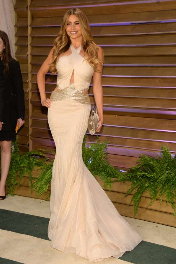 Sofia Vergara attends the 2014 Vanity Fair Oscar Party, on Sunday, March 2, 2014, in West Hollywood, Calif. Photo: Evan Agostini, Associated Press