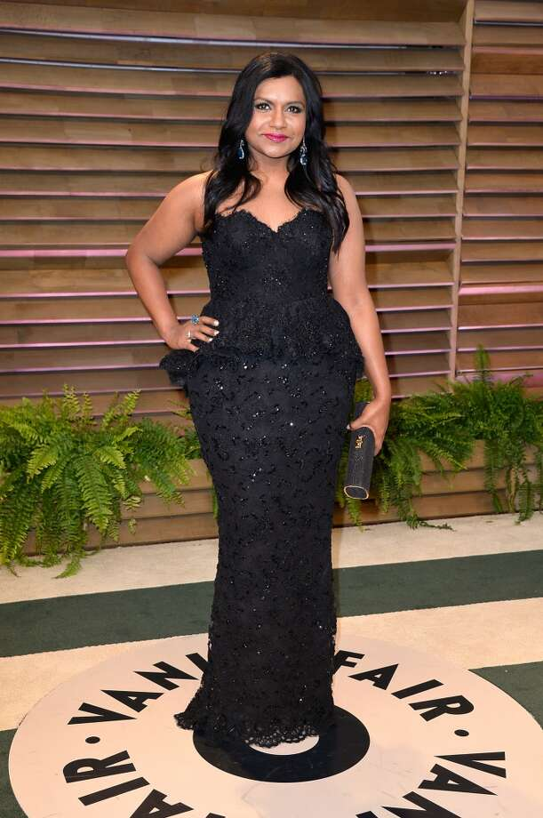 Actress Mindy Kaling attends the 2014 Vanity Fair Oscar Party hosted by Graydon Carter on March 2, 2014 in West Hollywood, California. Photo: Pascal Le Segretain, Getty Images