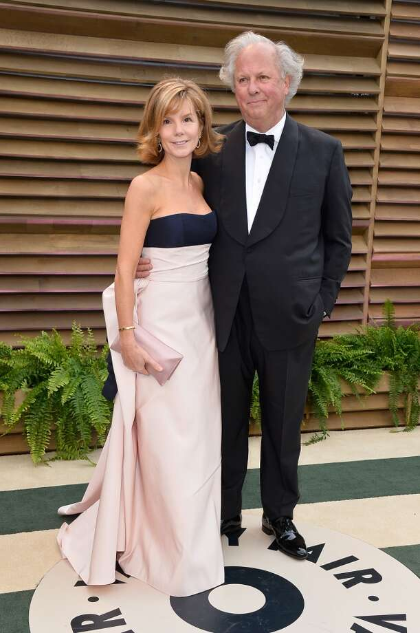 Vanity Fair Editor-in-Chief Graydon Carter (R) and Anna Scott Carter attend the 2014 Vanity Fair Oscar Party hosted by Graydon Carter on March 2, 2014 in West Hollywood, California. Photo: Pascal Le Segretain, Getty Images