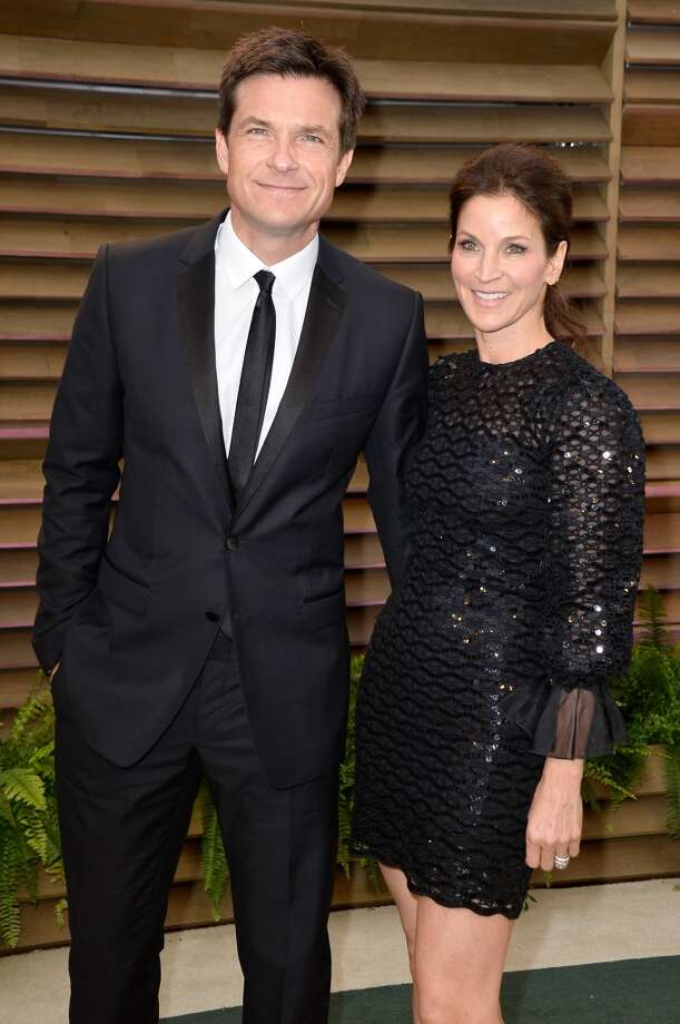 Actors Jason Bateman (L) and Amanda Anka attend the 2014 Vanity Fair Oscar Party hosted by Graydon Carter on March 2, 2014 in West Hollywood, California. Photo: Pascal Le Segretain, Getty Images