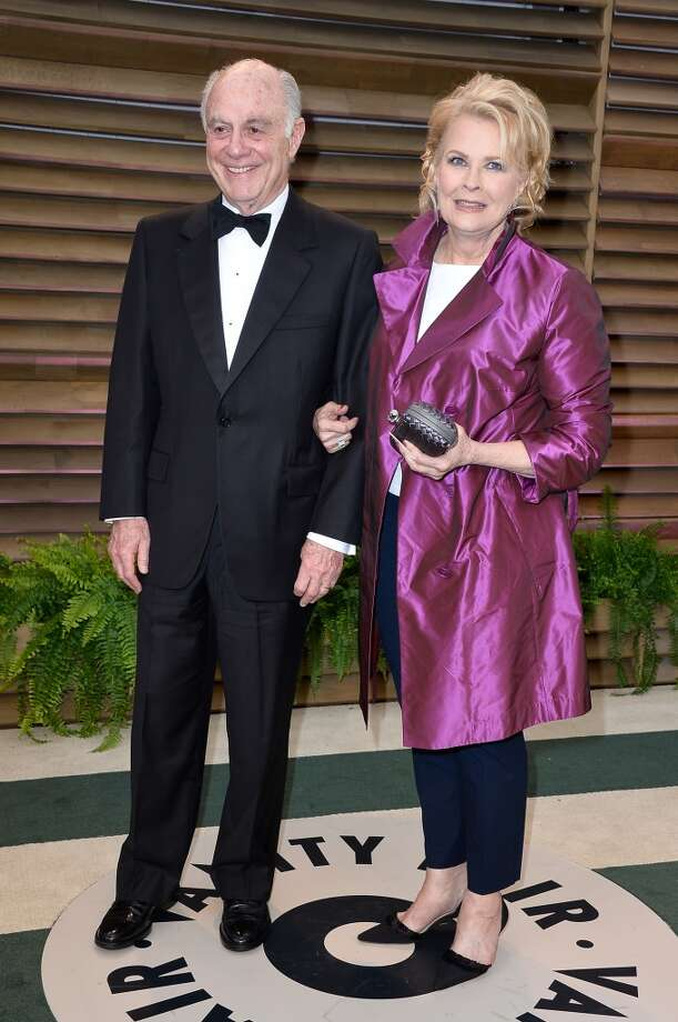 Philanthropist Marshall Rose (L) and actress Candice Bergen attend the 2014 Vanity Fair Oscar Party hosted by Graydon Carter on March 2, 2014 in West Hollywood, California. Photo: Pascal Le Segretain, Getty Images