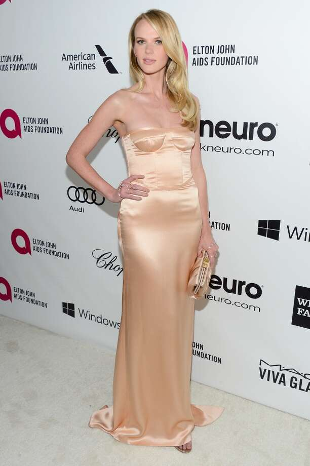 LOS ANGELES, CA - MARCH 02:  Model Anne Vyalitsyna attends the 22nd Annual Elton John AIDS Foundation's Oscar Viewing Party on March 2, 2014 in Los Angeles, California. Photo: Mark Davis, Getty Images For EJAF