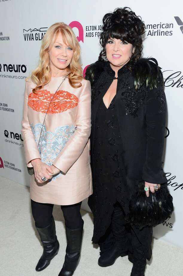 Recording artists Nancy Wilson (L) and Ann Wilson of Heart attend the 22nd Annual Elton John AIDS Foundation's Oscar Viewing Party on March 2, 2014 in Los Angeles, California. Photo: Mark Davis, Getty Images For EJAF