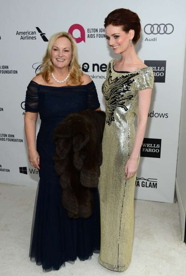 Patricia Hearst (L) and actress Lydia Hearst attend the 22nd Annual Elton John AIDS Foundation's Oscar Viewing Party on March 2, 2014 in Los Angeles, California. Photo: Mark Davis, Getty Images For EJAF