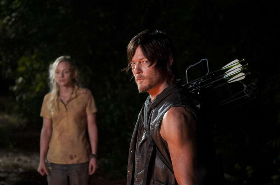Beth Greene (Emily Kinney) and Daryl Dixon (Norman Reedus) - The Walking Dead _ Season 4, Episode 12 - Photo Credit: Gene Page/AMC