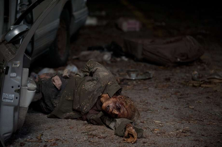 Walkers - The Walking Dead _ Season 4, Episode 12 - Photo Credit: Gene Page/AMC