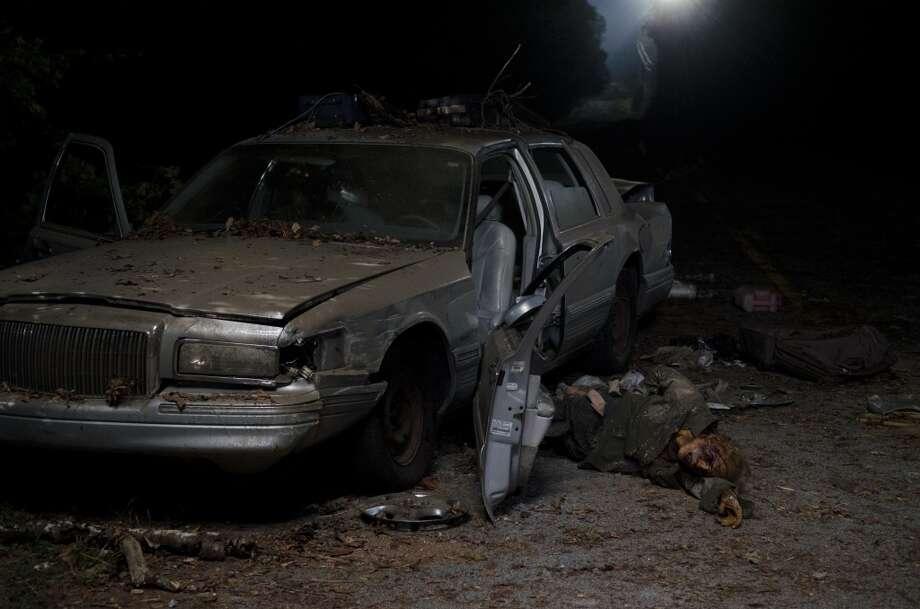 Walkers - The Walking Dead _ Season 4, Episode 12 - Photo Credit: Gene Page/AMC
