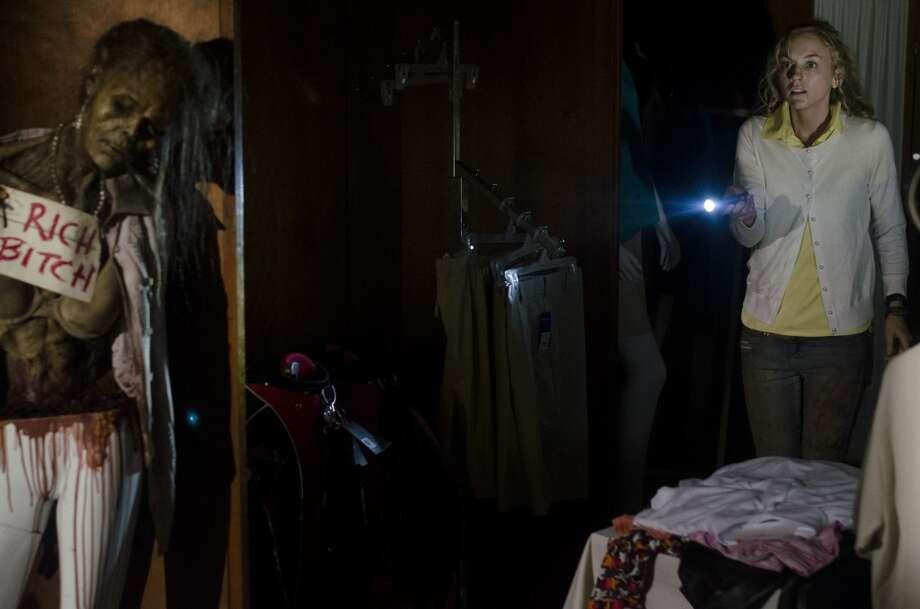 Walker and Beth Greene (Emily Kinney) - The Walking Dead _ Season 4, Episode 12 - Photo Credit: Gene Page/AMC