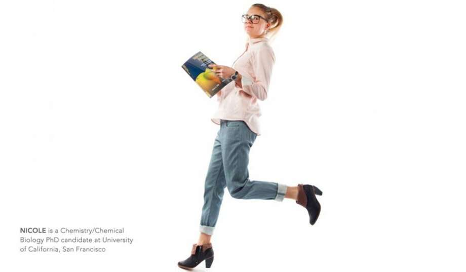 Nicole is a chemistry/chemical biology PhD candidate at UCSF. Photo: Courtesy, Betabrand