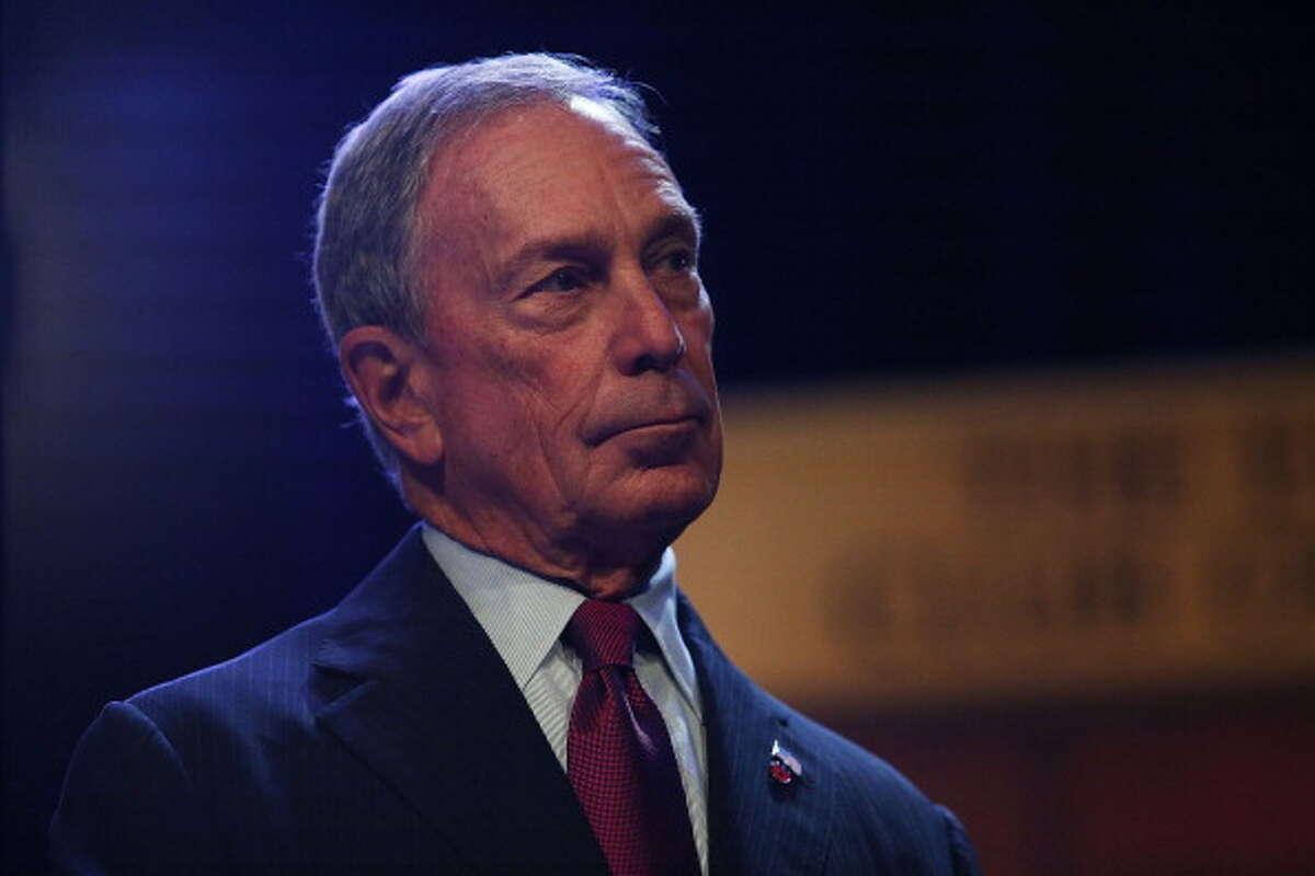 Former New York Mayor Michael Bloomberg: He's running up endorsements in Pierce County.