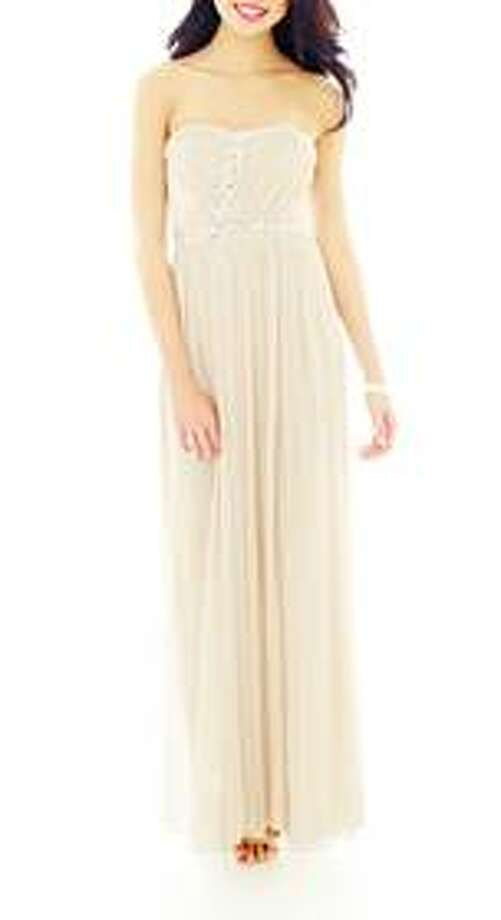 City Triangles gown, $118, JCPenney