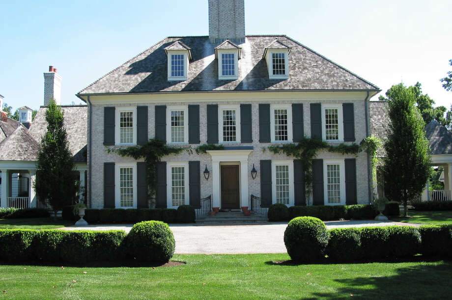 The house at 205 Queens Grant Road is on the market for $3.6 million. Photo: Contributed Photo / Fairfield Citizen