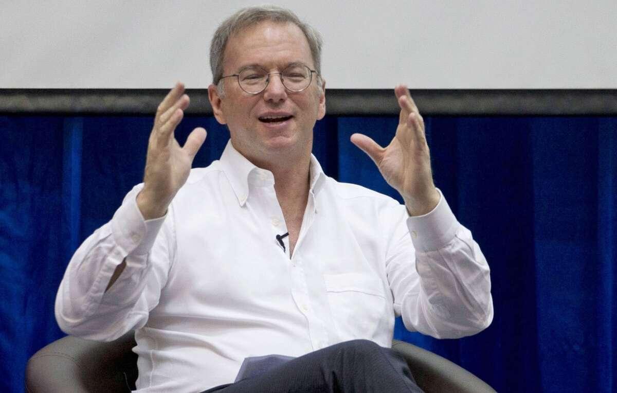 132. Eric Schmidt, executive chairman of Google Net worth: $9.3 billion Age: 58 Residence: Atherton, Calif.