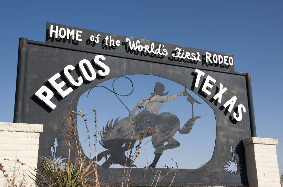 Barrel racing and fried-anything-on-a-stick might never have been without Texas. The world's first rodeo happened in Pecos, Texas on July 4, 1883.