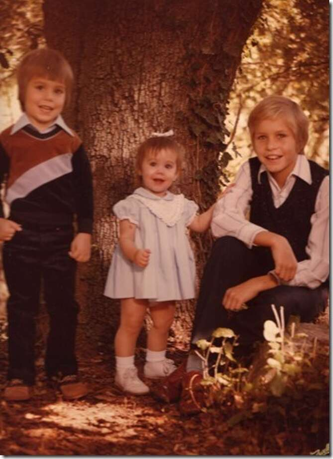 The original picture was taken in fall 1980 when my children were (Jeff) 4, (Jill) 1 and (John) 11.  The picture was taken in San Antonio by Zavell Smith photography. Photo: Courtesy