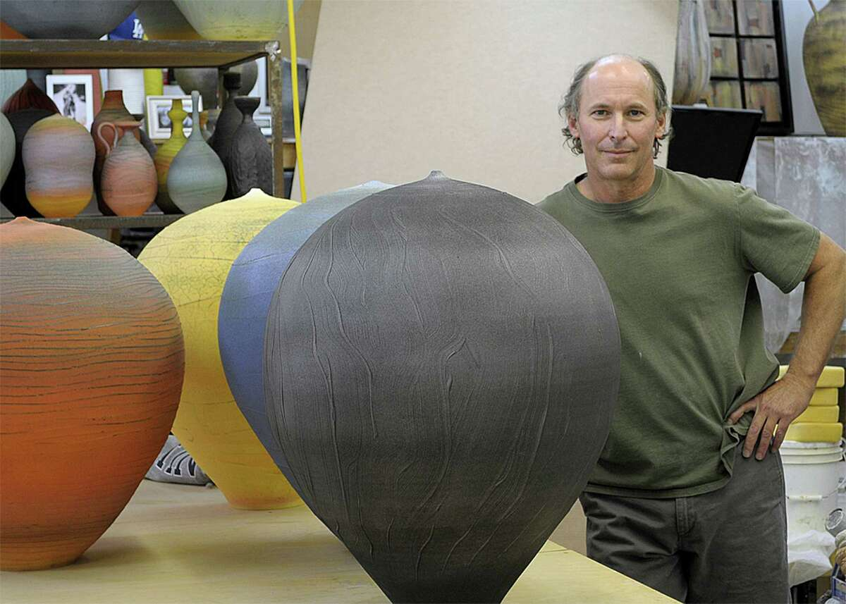 Former Greenwich resident and potter Nick Bernard, now based in Scottsdale, Ariz., can trace his lifelong passion for making pots back to his days at Greenwich High School.